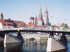 Eiserne Brücke, Regensburg - Tragwerksplanung - Ingenieurbau