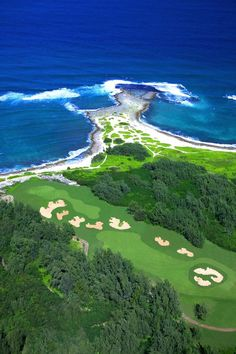 Arnold Palmer Course at Turtle Bay on Oahu ◉ re-pinned by  http://www.waterfront-properties.com/pbgoldmarshclub.php
