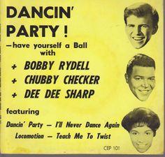 BOBBY RYDELL - CHUBBY CHECKER - DEE DEE SHARP