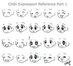 Discover recipes, home ideas, style inspiration and other ideas to try. Chibi Girl Drawings, Kawaii Drawings, Cute Drawings, Anime Faces Expressions, Facial Expressions Drawing, Drawing Base, Manga Drawing, Drawing Reference Poses, Drawing Tips