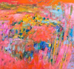 Penelope Stutterheime / Summer House II / oil on canvas / 100 x 105 cm