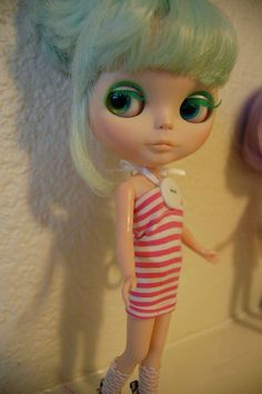 made Jelly a dress :D Mint Green Dress, Adidas Golf, Green Fashion, Jelly, Hair Color, Disney Princess, Disney Characters, Summer, Dresses