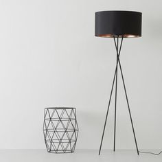 Eglo vloerlamp (Ø51 cm), Zwart