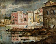 Roman Kramsztyk - Pejzaż z Collioure, ok. 1925 - 1928 r.