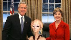 WHAT GEORGE W. BUSH REALLY KNOWS ABOUT UFOS