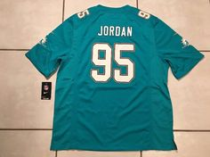 NWT NIKE Miami Dolphins Dion Jordan  NFL Jersey Men's Large  | eBay