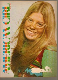 American Girl Magazine February 1973 Girl Scouts of America www.advintageplus.com