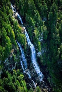 Skookumchuck Narrows Waterfall, Egmont, Sunshine Coast, BC.