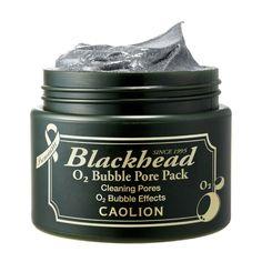 [caolion] Blackhead O2 bubble pore Pack 50g [p551-a000]