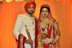 A shimmering embroidered curtain falls on one of the speculated-upon celebrity-romances in recent times. Cricketer Harbhajan Singh and actress Geeta Basra who were rumoured to be a pair for more than 8 years now, have finally made it official.