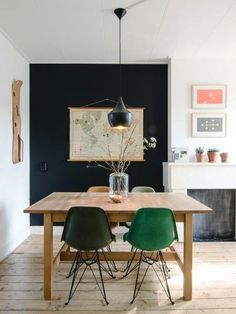 Better Together: Using Black & Green in Every Room of the House | Apartment Therapy