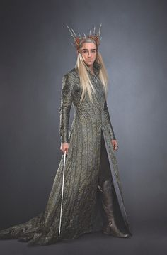 Lee Pace as Thranduil  He's very much my image of an Elvenking/Death Knight -- enchanting yet deadly, especially up close.