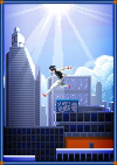 Pixel Art Series Created by Jul-Forza Pedro Store Pixel Image, Art Series, Great Words, Video Game Art, The Real World, Cool Art, Awesome Art, Willis Tower, Cn Tower
