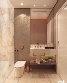 """REPERTÓRIO CASA • LUCAS KENJI on Instagram: """"Bom dia! Lavabo lindo e super sofisticado!💙✨ Projeto AT Arquitetura Conheça também @you.can.find e @apto603. Use #grupomaisvisao"""""""