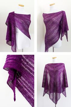 Ravelry: Citadel shawl with Knitlob's Lair Ilmatar - knitting pattern by Janina Kallio.