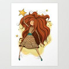 Star Art Print by Tatiana Obukhovich - $15.00