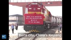 A freight train left Xinjiang for Germany on Friday, carrying liquid chemical. It will reach Ludwigshafen in 15 days, after traversing Kazakhstan, Russia, Belarus, Lithuania and Poland. It is the first time for the region to export liquid chemical via the China-Europe freight train route.
