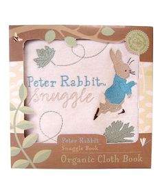 Look what I found on #zulily! Peter Rabbit Snuggle Cloth Book by Penguin #zulilyfinds