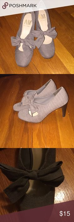 Ann Marino Tweed Mary Janes 3 inch heels! Only been worn once! Ann Marino Shoes Heels