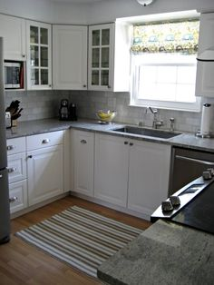 Small efficient kitchen. This size works for me!
