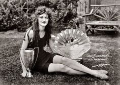 Miss America 1924 Ruth Malcomson...naturally pretty...not man made with fake boobs and Botox.