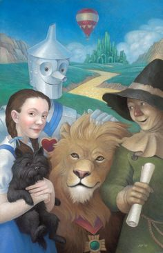 Wizard of Oz poster by Cloverfish on deviantART