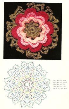 Many Crochet Flower Patterns