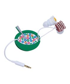 Take a look at this DCI Breakfast Earbuds by DCI on #zulily today!    LoL