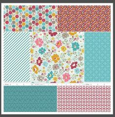fat quarter bundle from Hawthorn Threads