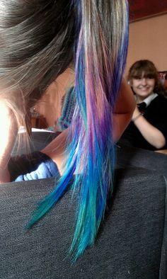 dip dyed hair | Tumblr