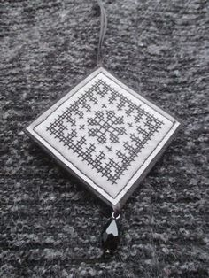 Safety Reflector with etno pattern Hand made by EvoryCrafts