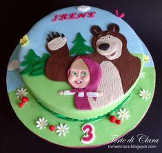 Masha+and+the+Bear cake