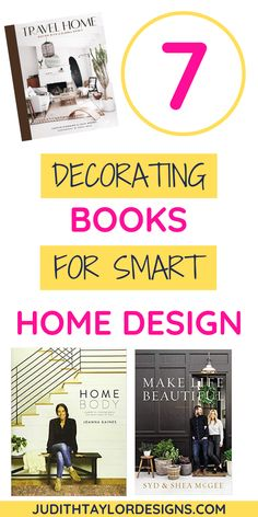Check out these great decorating books for inspiration, education, and design advice! Don't start your next home remodel project without these!