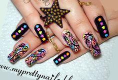 Fun BPS Star Studded Neon Ombre Gradient Nail Art Design Tutorial   https://www.youtube.com/watch?v=sCpGUhvZk7A