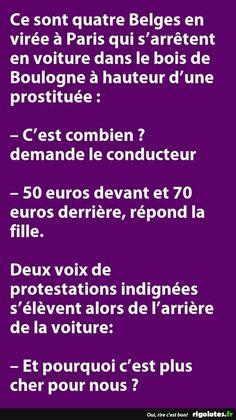 Ce sont quatre Belges en virée à Paris... - RIGOLOTES.fr