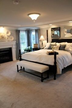 love this master bedroom colors and decorations workaholicmomma
