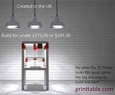 PRINTTABLE the Affordable, Attractive IKEA Lack Table Hack to create a 3D Printer - All