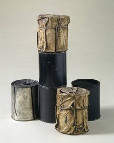 'Wrapped Cans, Part of Inventory' - Christo Javacheff - 1959/60