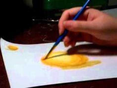 Basic Watercolor Pencil Techniques