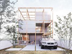 suppose design office / 建築家・谷尻誠 『浜松の家』 http://www.kenchikukenken.co.jp/works/1042811417/2092/ #architecture