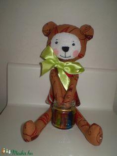 Borzas medve (barna) (pillenyek) - Meska.hu