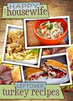 Nice round-up of Leftover Turkey Recipes