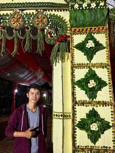Wedding Entrance, Khmer Wedding, Tree Skirts, Cambodia, Coconut, Christmas Tree, Holiday Decor, Home Decor, Teal Christmas Tree