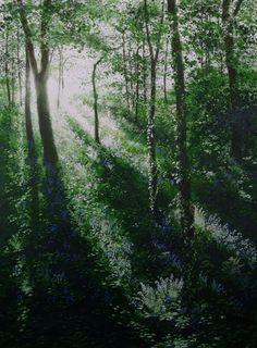 Woodlands - Naomi Tydeman. #painting