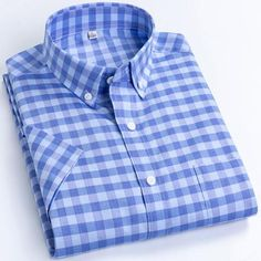 Brand Name: mengquanOrigin: CN(Origin)Material: COTTONApplicable Scene: DailyShirts Type: Casual ShirtsSleeve Length(cm): SHORTStyle: CasualApplicable Season: summerCollar: Square CollarClosure Type: Single BreastedItem Type: ShirtsSleeve Style: RegularGender: MENModel Number: F992Fabric Type: BroadclothPattern Type: P Casual Shirts For Men, Casual Shorts, Men Casual, Dickies Shorts, Plaid Fabric, Plaid Dress, Cotton Shorts, Shirt Sleeves, Men's Shirts