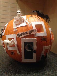 Halloween 2015 Horror Hotel Pumpkin