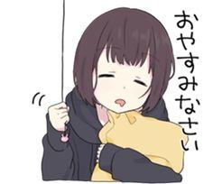 Menhera-chan cute nice style girl adorables sleepy go to slee Dibujos Anime Chibi, Cute Anime Chibi, Kawaii Anime Girl, Anime Art Girl, Manga Girl, Manga Anime, Sweet Pictures, Kawaii Chan, Otaku Issues