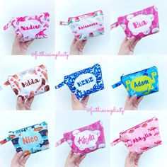 Personalized Pouch, please visit our IG at @faithissimplicity