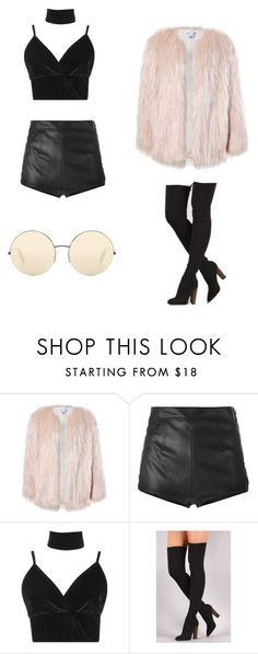 """Untitled #3"" by lynnette-pham ❤ liked on Polyvore featuring Sans Souci, La Perla, Boohoo and Victoria Beckham"