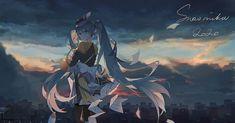 Hatsune Miku, Miku Chan, Iroha, Pretty Art, Various Artists, Anime Love, Pop Culture, Anime Art, Fan Art